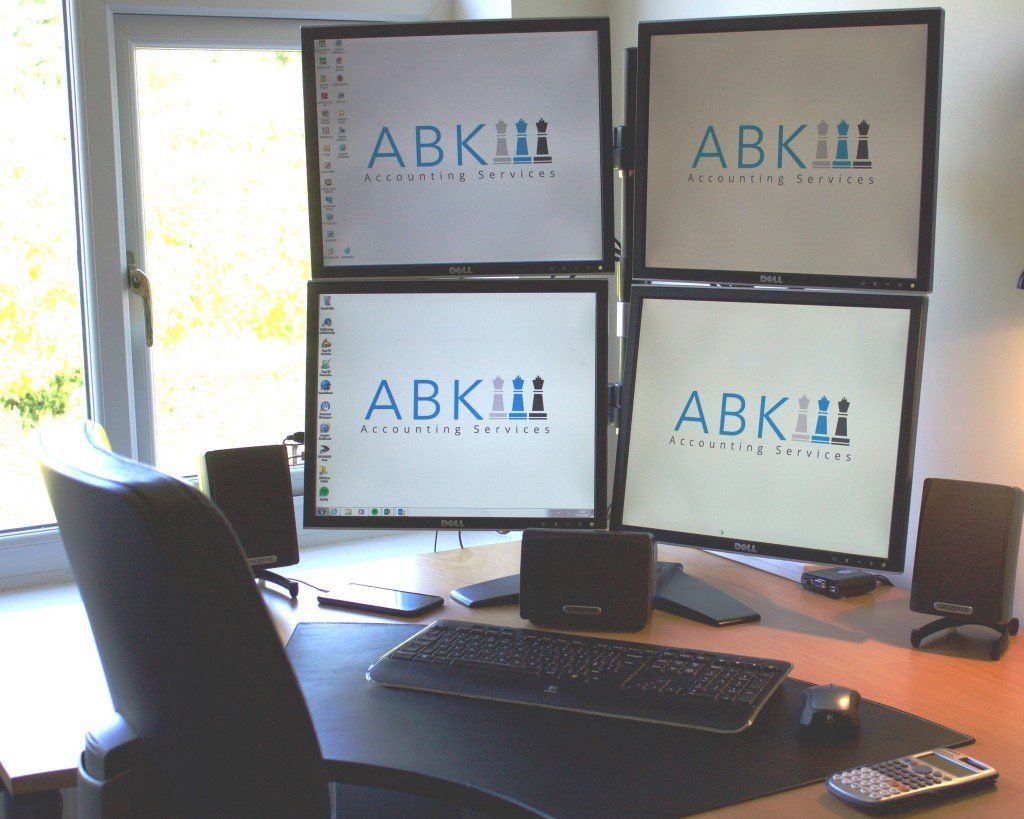 ABK PC Quad Monitors