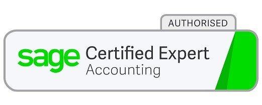 Sage accounting certified logo