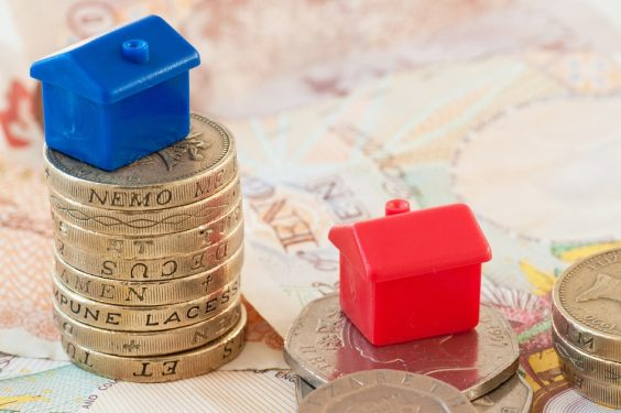 Buy-to-Let. Monoploy Houses on Money